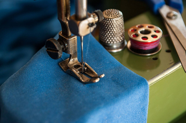 needle of a sewing machine