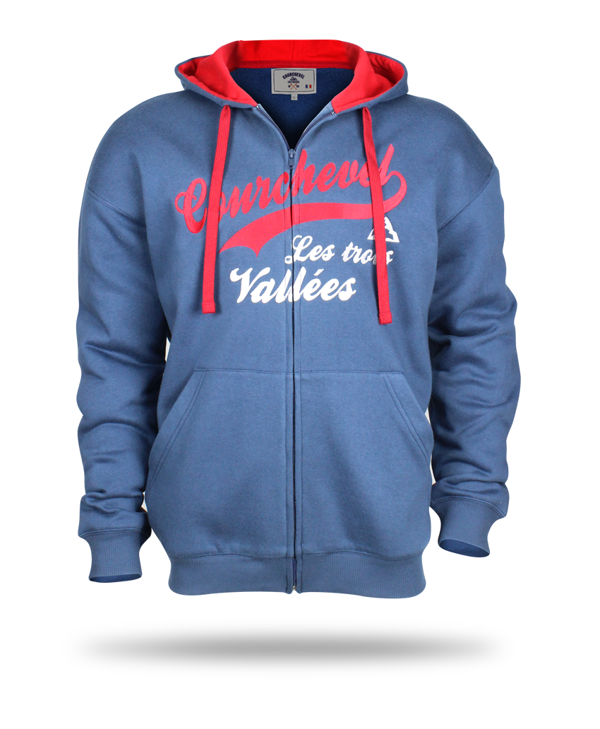 Courchevel blue Hoodies image