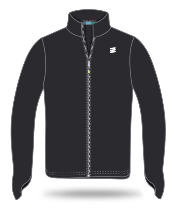 Winter black jacket for erricson