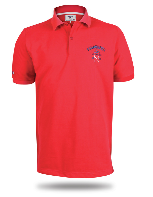 Red T-shirt for Courchevel