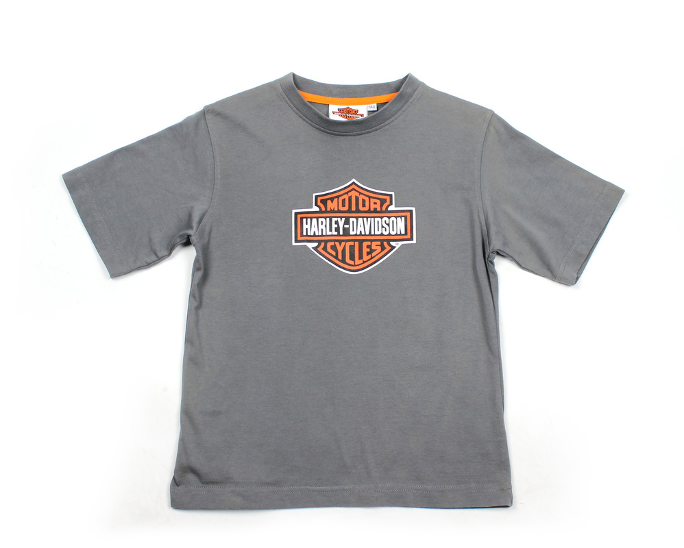 Grey T-shirt for our client Harley Davidson