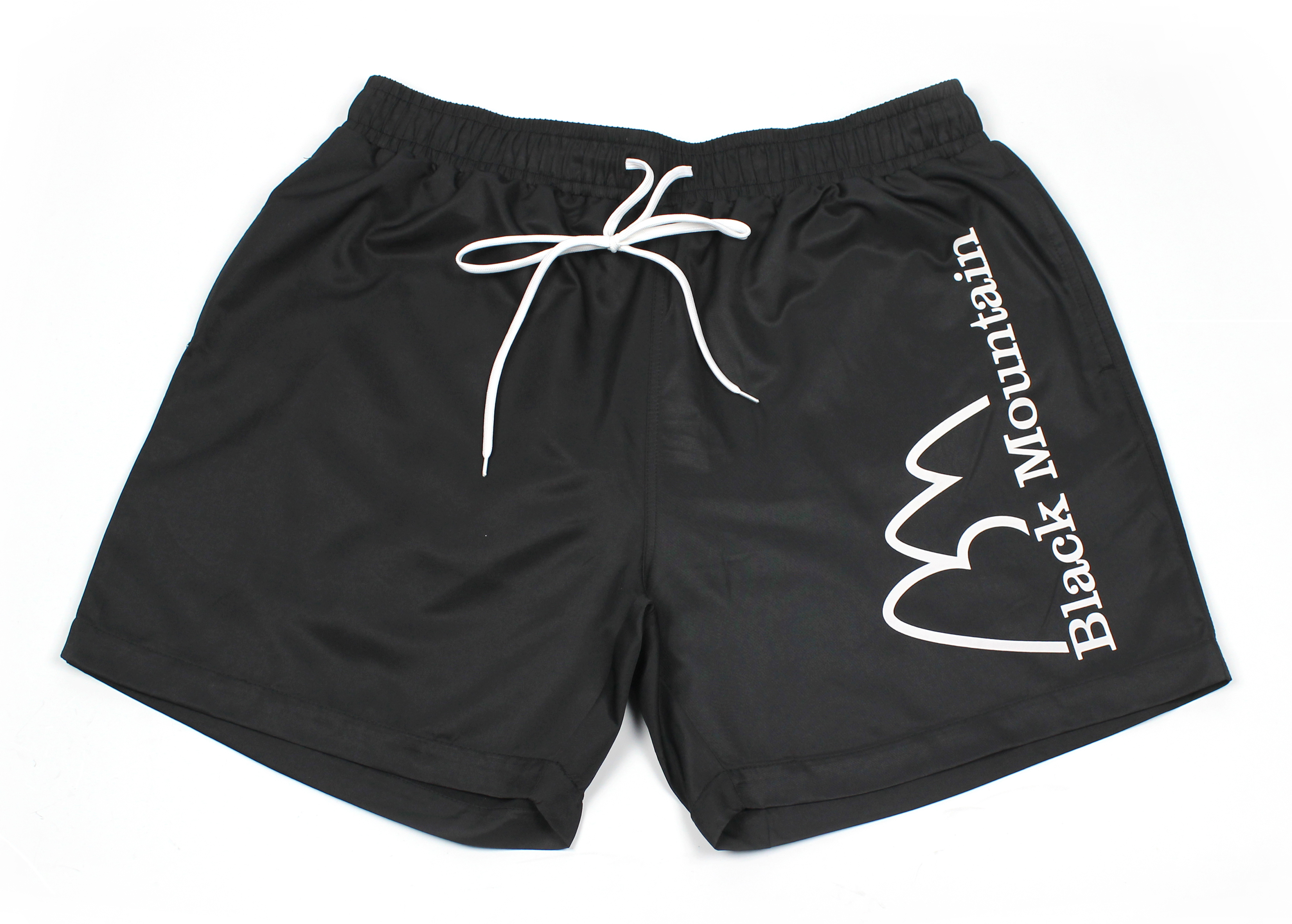 As you can see, here is the black mountain short we designed completely for them