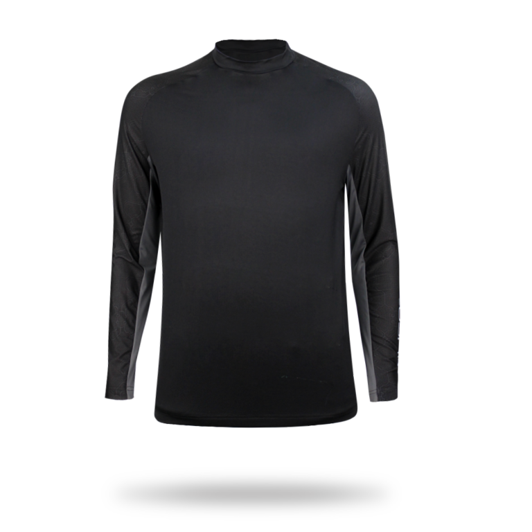 Long sleeve black jersey picture