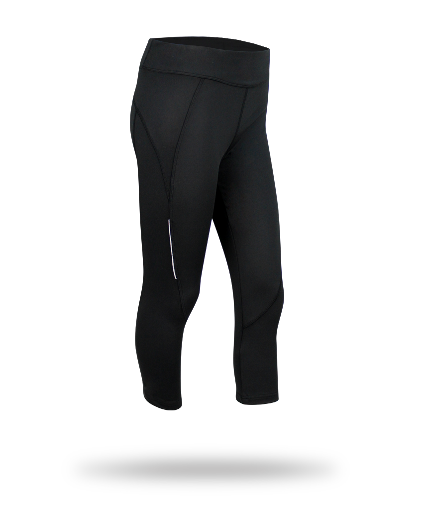 black legging 100% polyester clothing picture