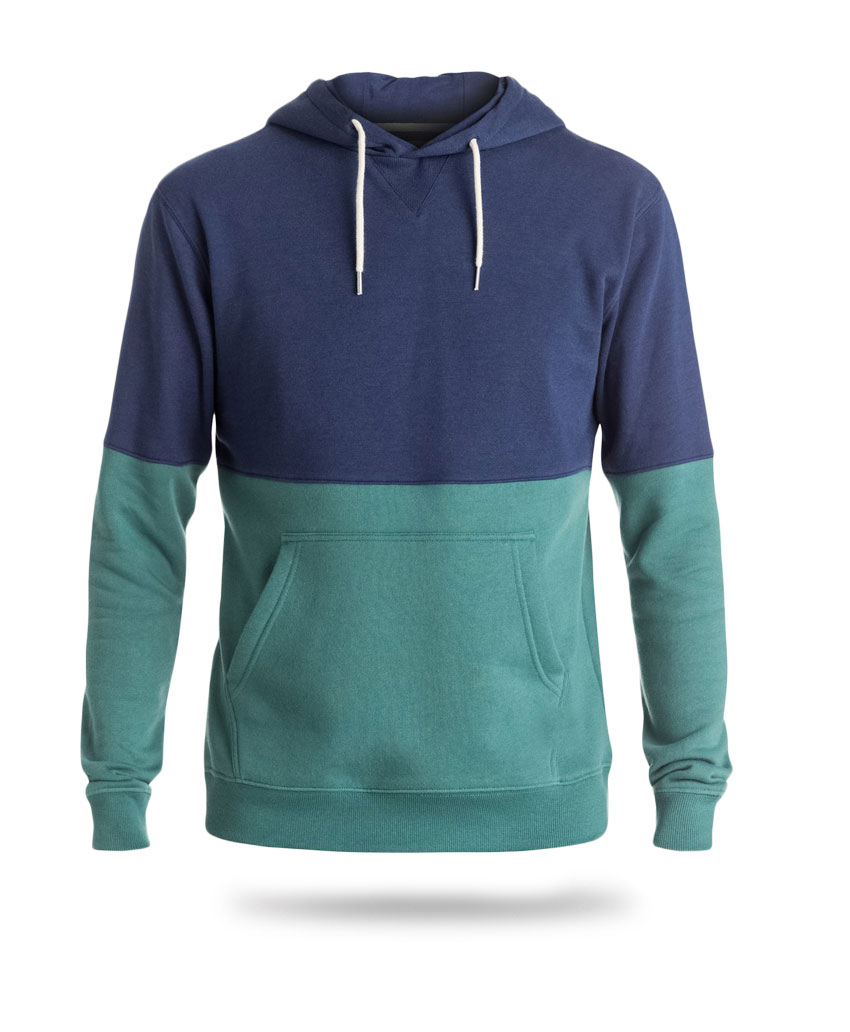hoodies blue and green