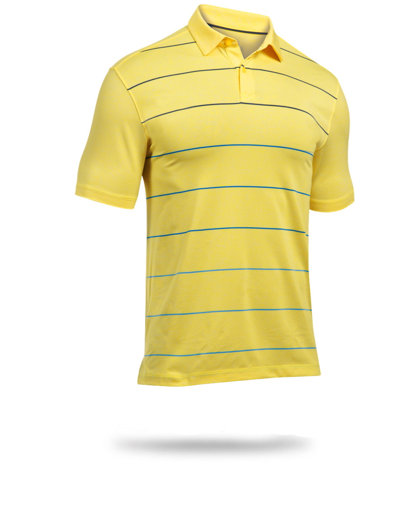 here is a yellow polo