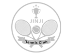 This is the Jinji tennis club logo